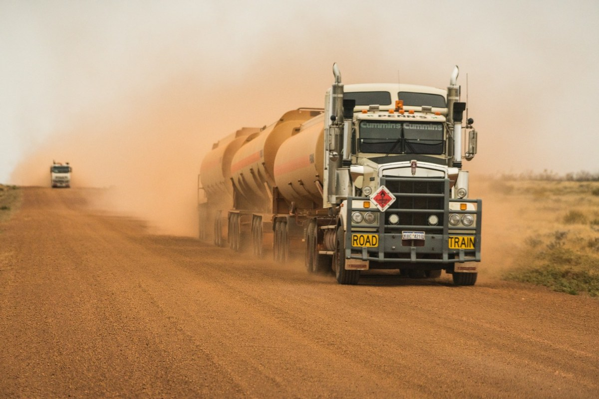 warburton to laverton, rob mulally, outback way, longest shortcut, outback, red centre, road train