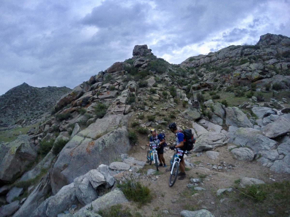Adventure Racing 101 // How, What, Why...And Why Again? Emily Rowbotham, Navigating a boulder field, rocks, mountain bikes, off road