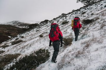 Adrian Mascenon, kathmandu X We Are Explorers Alpine Trip, Tips for your first winter trip into the backcountry from someone who has been there, snowy mountains Kosciuszko National Park, nsw