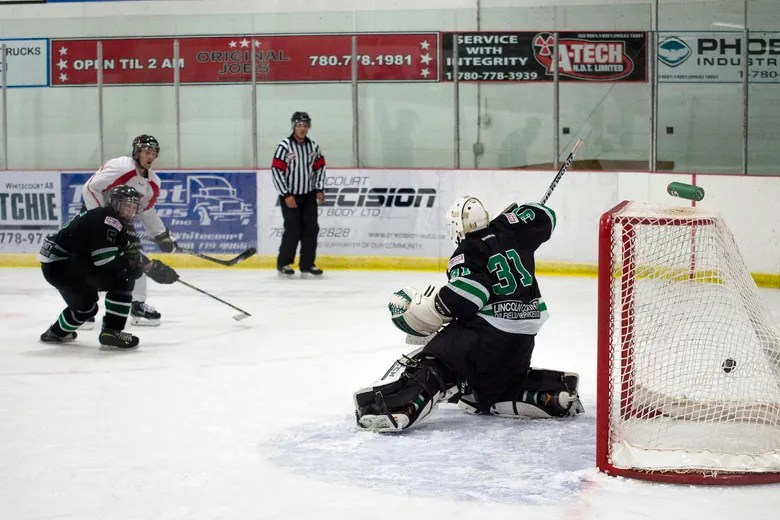 Whitecourt starts exhibition play with losses | Whitecourt ...