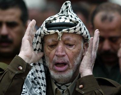 Yasser Arafat, preşedintele Autorităţii Naţionale Palestiniene din 1994