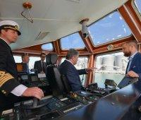 В крупнейшем морском порту Украины открыли новый зерновой терминал. ФОТОрепортаж