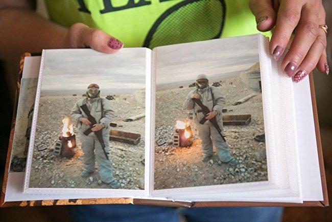 Фото, которые присылал Матвеев из Сирии