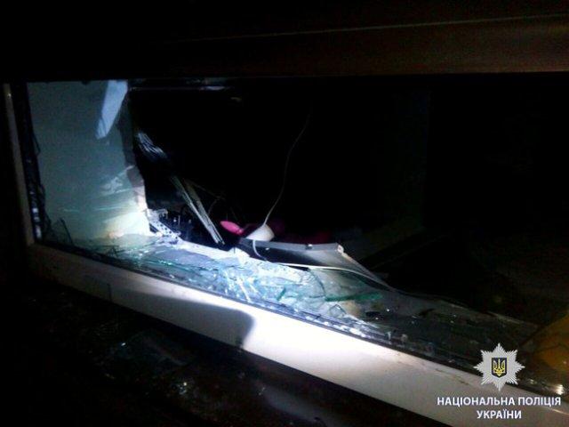 Ночью в Харькове подорвали банкомат Приватбанка и забрали из него деньги, - Нацполиция 03