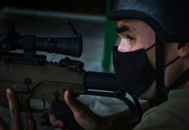 Нову українську снайперську гвинтівку випробували в справі курсанти Академії Нацгвардії 06