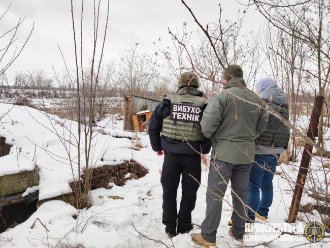 Біля Станиці Луганської знайшли снаряд, що перебуває на озброєнні армії РФ, - прокуратура 02