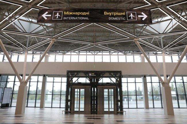 Новый терминал аэропорта Запорожья достроен, - мэр Буряк 10