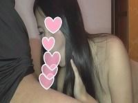 【個人撮影】顔出し 19歳 良く笑い、おどおどした黒髪女子大生に、中出しwww【高画質版有】