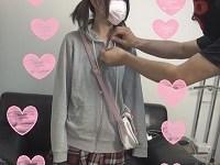 初撮り中出し3P☆可愛い黒髪18歳(天使)ピンク乳首娘におっさん二人容赦なく中出ししちゃいました♪※高画質ZIP付【個人撮影】