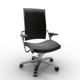 office chair 3d model lift chairs rental wiesner hager furniture models point swivel wh download