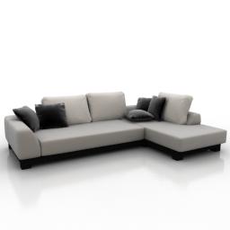 Only Delicious 3D Models Top 3D Models Sofa