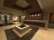 Hotel Entrance Landscape Design
