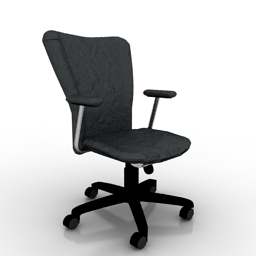 office chair 3d model armrest covers in ikea catalogue 2009 02 70 gsm 3ds for interior download