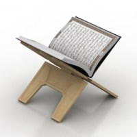 """""""Quran Holder Book stand"""" - Interior Collection 3D Models ..."""