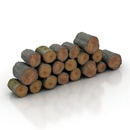 logs n030718 3d model