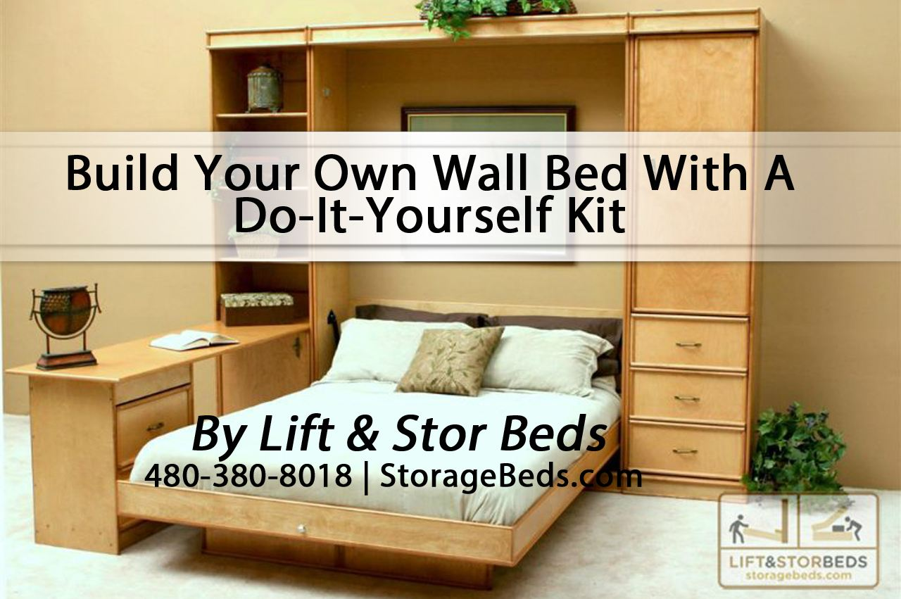 do it yourself murphy bed kit