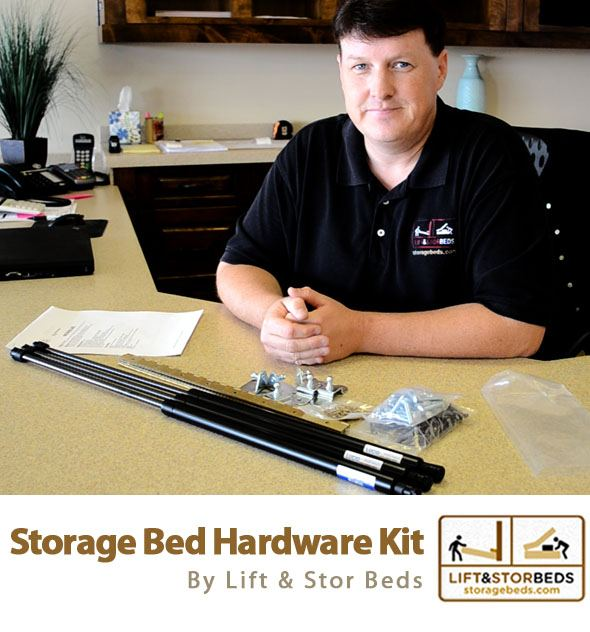 Storage Bed Hardware Kit Lift And Stor Storage Beds