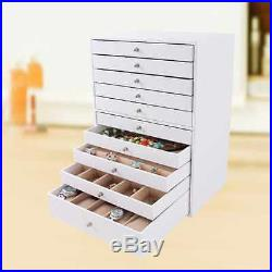 Large Jewellery Box With Drawer Storage Space Organiser Home Women Gift Bedroom Storage Boxes Large