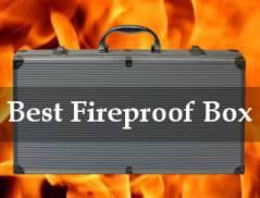 best fireproof box reviews