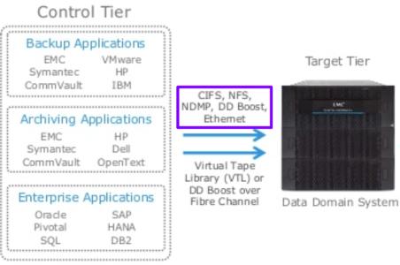 Backup to Data Domain with NAS Protocols
