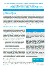 The Value of Data Infrastructure Insight White Paper Report