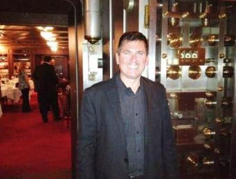 David Chapa of Quantum in bank vault