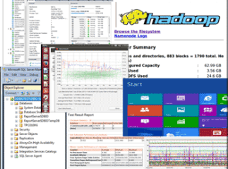 Hadoop server storage I/O performance