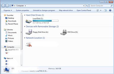 Windows storage devices