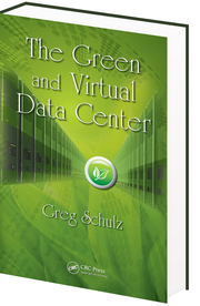 The Green and Virtual Data Center Book addressing optimization, effectivness, productivity and economics