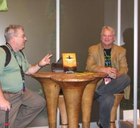 Greg Schulz during book signing at VMworld 2011