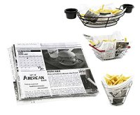Mannily Food Grade Tissue Paper Food Basket Liners ...
