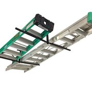 StoreYourBoard Double Ladder Ceiling Rack - Hi-Port 2 Garage Storage
