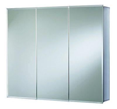 Croydex Westbourne Triple Door Tri-View Cabinet
