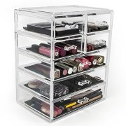 Cosmetics Makeup and Jewelry Big Storage Case Display