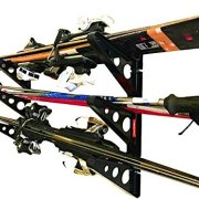 StoreYourBoard Ski Storage Rack | Horizontal Wall Rack