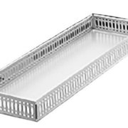 Taymor Chrome Large Vanity Tray