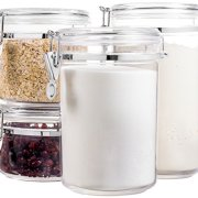 Bellemain 4 Piece Airtight Acrylic Canister Set