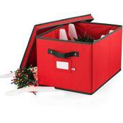 ZOBER Christmas Light Box Storage - Premium 600D Oxford