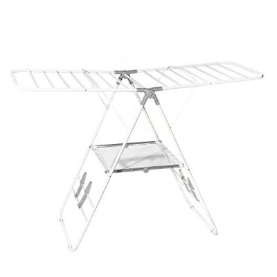 Hamilton Beach 83120 Foldable Clothes, Indoor A- A-Frame Drying Rack, White