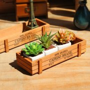 1pc Antique Wooden Table Sundries Container Cosmetics Organizer Jewelry Storage Box Home Decor Storage Box Wooden Jewelry Holder