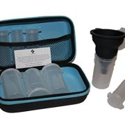 STAT Fitness Powdered Supplement Case (Blue)