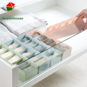 5 Grids Wardrobe Storage Box Basket Organizer Women Men Socks Bra Underwear Storage Box Plastic storage Container Organizer64180