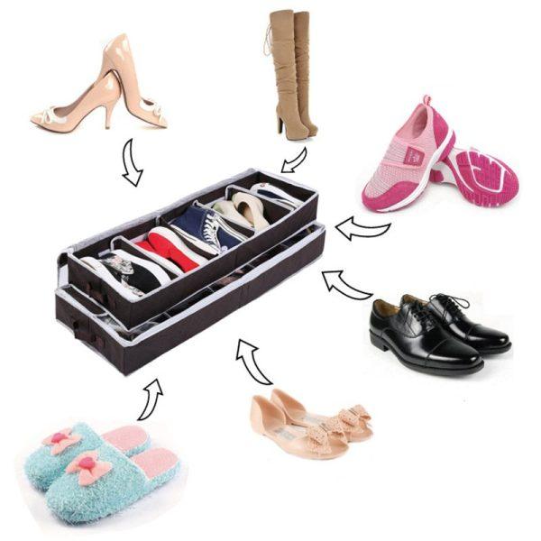 High Quality Multi-purpose Shoes Organizer Storage Shoe ...