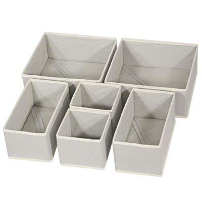 Foldable Cloth Storage Box Closet Dresser Drawer Organizer