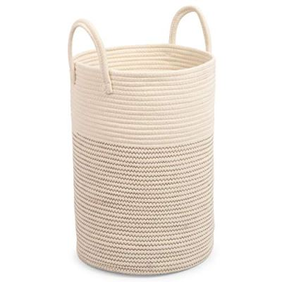 """OrganiHaus Cotton Rope Basket 