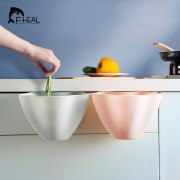 FHEAL Multifunction Kitchen Cupboard Door Hanging Garbage Cans Desktop Rubbish Organize Container Debris Trash Bins Storage Box