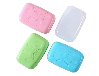 Efivs Arts Plastic Soap Case Holder
