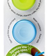 Humangear GoTubb, 3-Pack, Small (0.4oz), Clear/Green/Blue