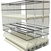 Vertical Spice - 222x2x11 DC - Spice Rack - Cabinet Mounted