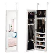 Giantex Jewelry Cabinet Armoire Door Wall Mounted